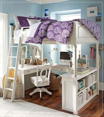 Awesome Cool Loft Bed Design Ideas and Inspirations 8
