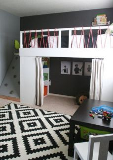 Awesome Cool Loft Bed Design Ideas and Inspirations 82