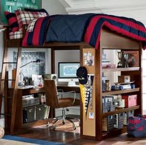 Awesome Cool Loft Bed Design Ideas and Inspirations 88