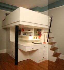 Awesome Cool Loft Bed Design Ideas and Inspirations 91