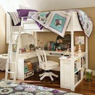 Awesome Cool Loft Bed Design Ideas and Inspirations 98