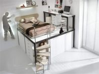Awesome Cool Loft Bed Design Ideas and Inspirations 99