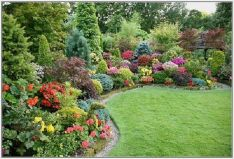 Colorful Landscaping with Low Maintenace Flower Bushes 37