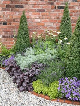 Colorful Landscaping with Low Maintenace Flower Bushes 63