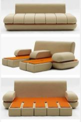 Cool Modular and Convertible Sofa Design for Small Living Room 48