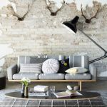 Fascinating Exposed Brick Wall for Living Room 18