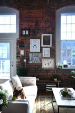 Fascinating Exposed Brick Wall for Living Room 22