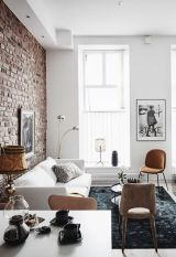 Fascinating Exposed Brick Wall for Living Room 27