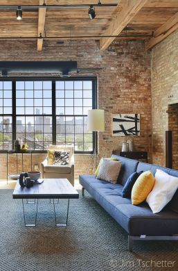 Fascinating Exposed Brick Wall for Living Room 31