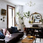 Fascinating Exposed Brick Wall for Living Room 33