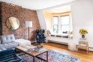 Fascinating Exposed Brick Wall for Living Room 38