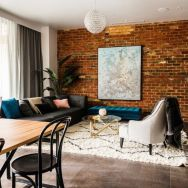 Fascinating Exposed Brick Wall for Living Room 39