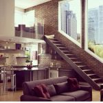 Fascinating Exposed Brick Wall for Living Room 41