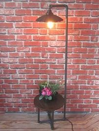 Fascinating Industrial Floor Lamp for Home Decorations 15