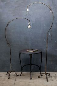 Fascinating Industrial Floor Lamp for Home Decorations 29