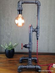 Fascinating Industrial Floor Lamp for Home Decorations 40