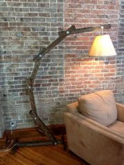 Fascinating Industrial Floor Lamp for Home Decorations 47
