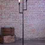 Fascinating Industrial Floor Lamp for Home Decorations 63
