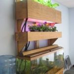 Mini Aquaponics with Fish for Home Decorations 13