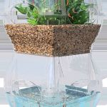 Mini Aquaponics with Fish for Home Decorations 25