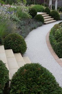 That is How to Make Garden Steps on a Slope 26