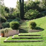That is How to Make Garden Steps on a Slope 29