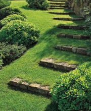 That is How to Make Garden Steps on a Slope 34