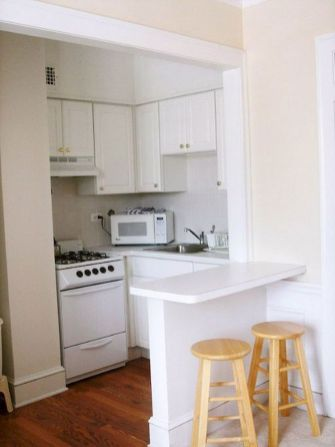 50 Ideas How to Make Small Kitchen for Apartment 12