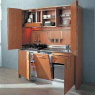 50 Ideas How to Make Small Kitchen for Apartment 31