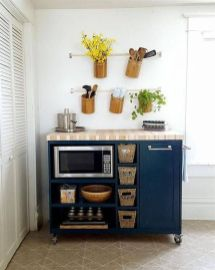 50 Ideas How to Make Small Kitchen for Apartment 45