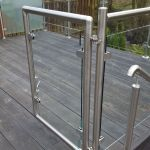 50 Incredible Glass Railing Design for Home Blacony 35