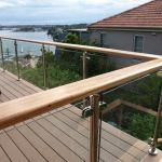 50 Incredible Glass Railing Design for Home Blacony 40