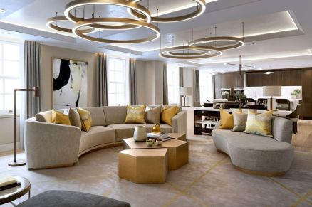 50 Magnificent Luxury Living Room Designs 14