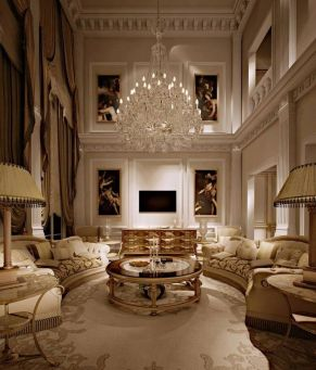 50 Magnificent Luxury Living Room Designs 54