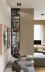 80 Incredible Room Dividers and Separators With Selves Ideas 1