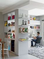 80 Incredible Room Dividers and Separators With Selves Ideas 28