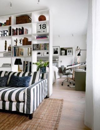 80 Incredible Room Dividers and Separators With Selves Ideas 31
