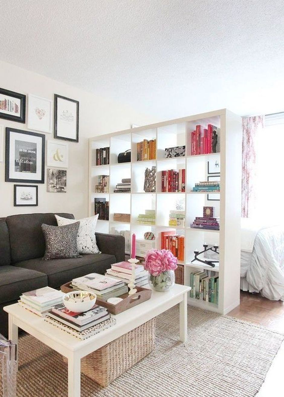 80 Incredible Room Dividers and Separators With Selves Ideas 4