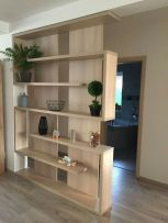80 Incredible Room Dividers and Separators With Selves Ideas 54
