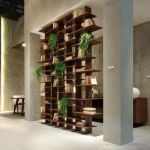 80 Incredible Room Dividers and Separators With Selves Ideas 68