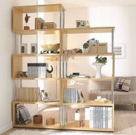 80 Incredible Room Dividers and Separators With Selves Ideas 78