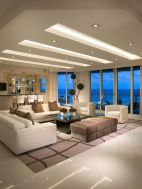Modern and Contemporary Ceiling Design for Home Interior 33