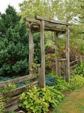 50 Rustic Backyard Garden Decorations 14