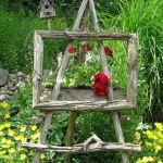 50 Rustic Backyard Garden Decorations 29