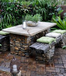 50 Rustic Backyard Garden Decorations 33