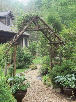 50 Rustic Backyard Garden Decorations 47
