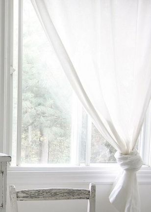 Beauty and Elegant White Curtain for Bedroom and Living Room 28