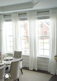 Beauty and Elegant White Curtain for Bedroom and Living Room 47