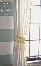 Beauty and Elegant White Curtain for Bedroom and Living Room 56