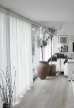 Beauty and Elegant White Curtain for Bedroom and Living Room 58